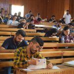 The mid-term examinations at the University of Rajava have started today.