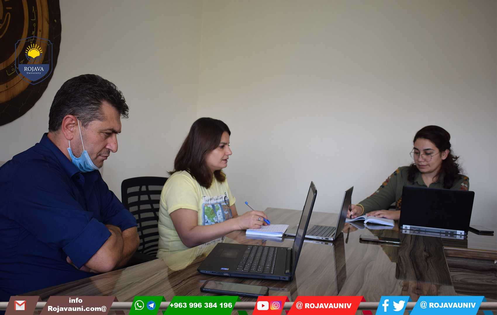 The meeting between the University of Rojava and the Kurdish Culture Office in Rome